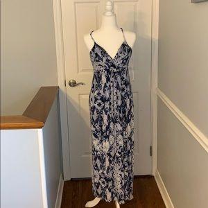 Will Smith Boho Pattern Maxi Dress